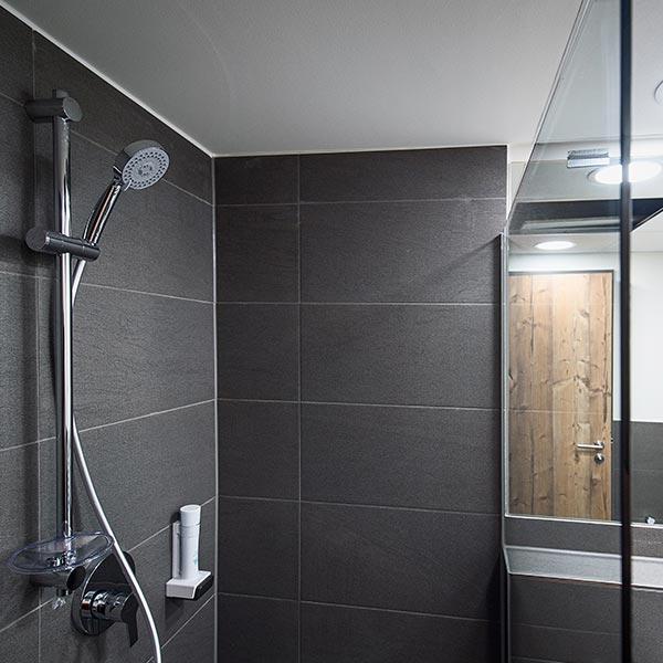 Badezimmer im Hotel Alb Inn